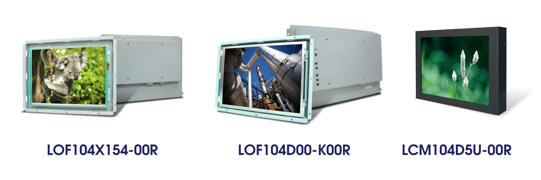 LOF104X154-00R LOF104D00-K00R LCM104D5U-00R