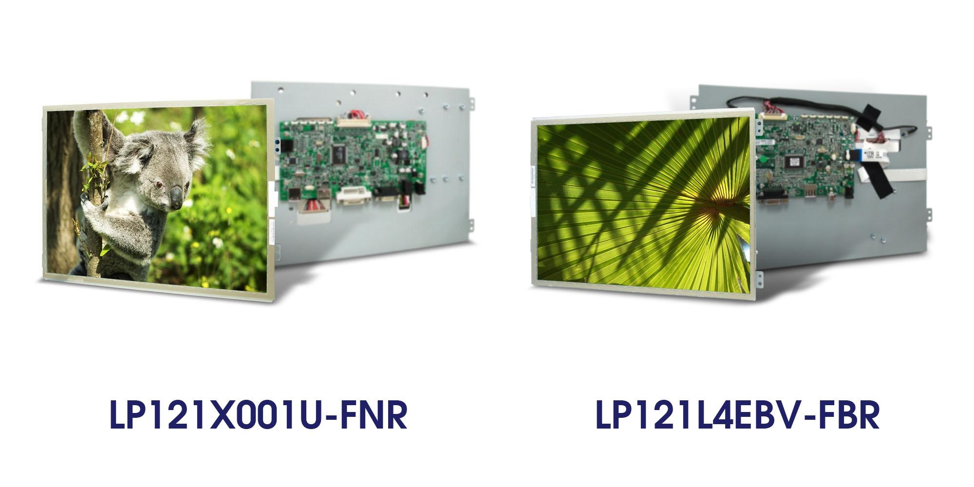 LP121X001U-FNR LP121L4EBV-FBR